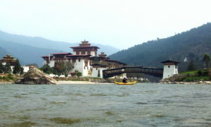 Chorten Butao Punakha Dzong md