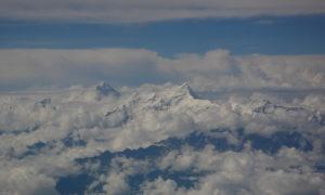 Chorten Nepal Himalayas voo Kathmandu 2 - md