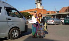 Chorten Nepal Kathmandu aeroporto 3