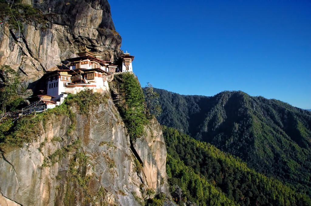Felicidade Interna Bruta e Guru Rinpoche no Butão