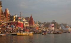 Chorten India Varanasi Ganges Ghats md