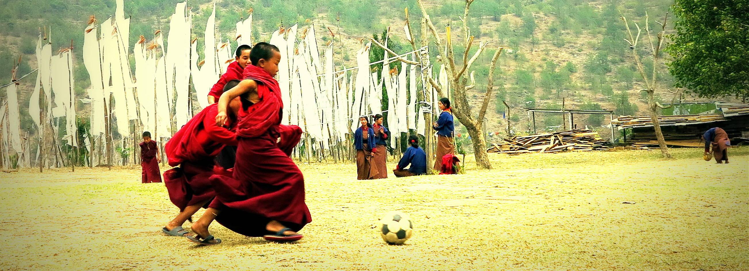 Locais Budistas no Vale de Kathmandu e Butão