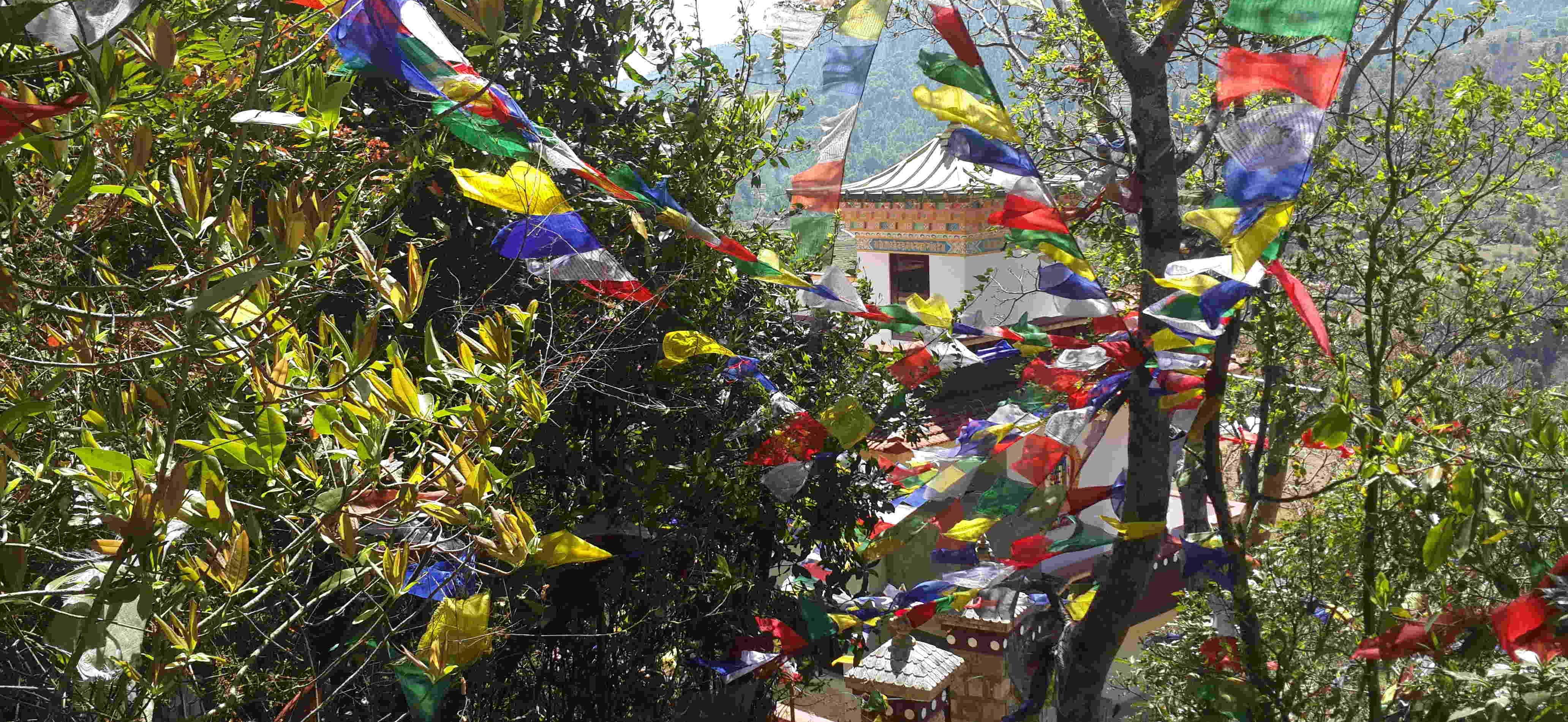Locais Budistas no Vale de Kathmandu