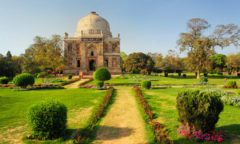 Mosque of Sheesh Gumbad, Lodhi Gardens