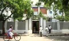 Chorten India Pondicherry Ashram
